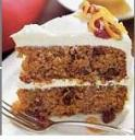 Cake can be made healthier. Yummy Sweet Potato Cake!  Photo - www.epicurious.com