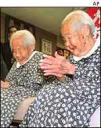 Longest-lived twins, ever, Gin and Kin Narita at 107 years old. photo: http://news.bbc.co.uk