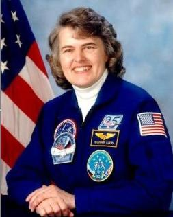 Shannon Lucid, oldest female astronaut and veteran of 5 space missions. NASA