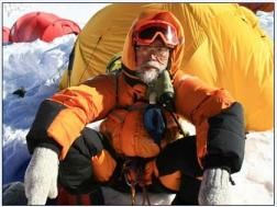 Katsusuke Yanagisawa on Everest. Photo: www.abc.go.com