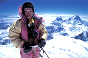 Tamae Watanabe climbs Mt. Everest successfully at age 63. Photo: http://englishpeopledaily.com.cn