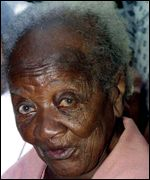 Maria do Carmo Jeronimo, Brazil - died at 129 years photo: http://news.bbc.co.uk