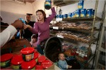 food-banks  Rebecca Muscarello, Arabi, LA saves food-stamps for fresh-food  www.nyt.com 11-11-08